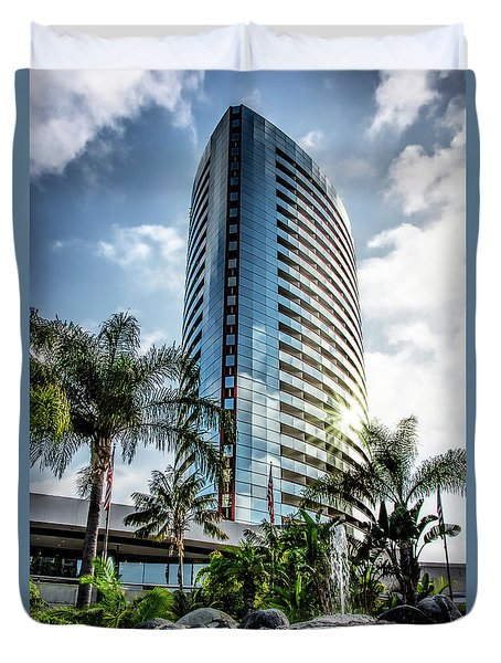 San Diego Marriott Marquis Duvet Cover