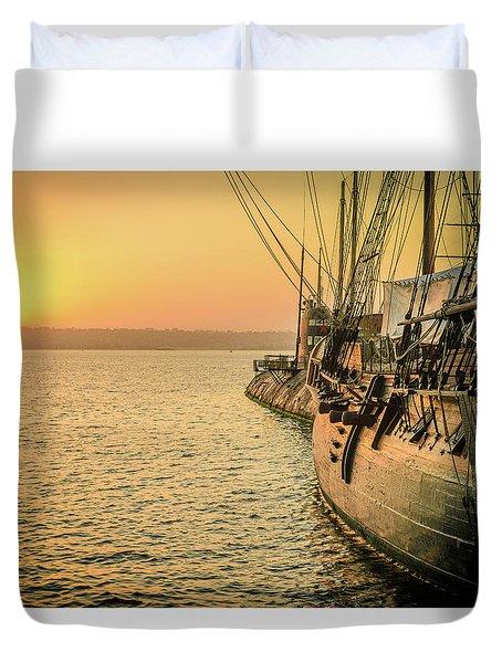 San Diego Sunset Duvet Cover