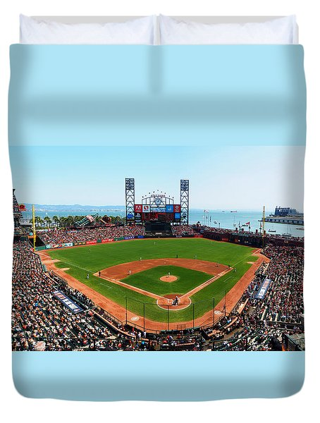 San Francisco Ballpark Duvet Cover