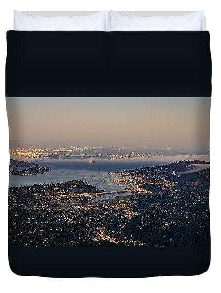 San Francisco Bay Area Duvet Cover