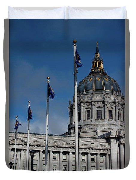 San Francisco City Hall Duvet Cover