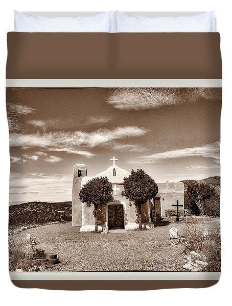 San Francisco De Asis  Est 1839 Duvet Cover