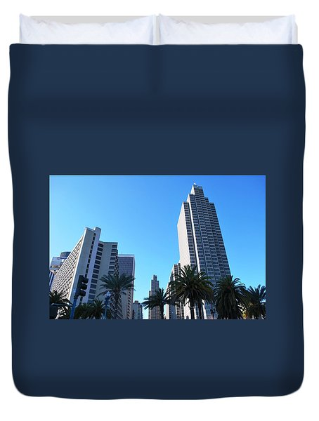 San Francisco Embarcadero Center Duvet Cover