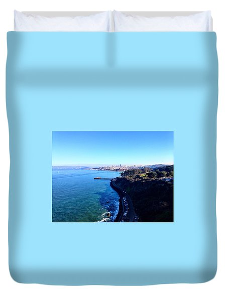 San Francisco Glory Duvet Cover