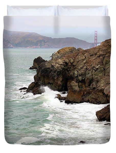 San Francisco Lands End Duvet Cover