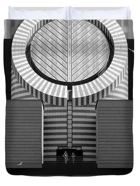 San Francisco Museum Of Modern Art Duvet Cover by Mike McGlothlen