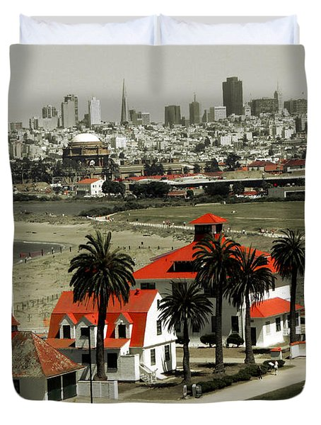 San Francisco Panorama 2015 Duvet Cover