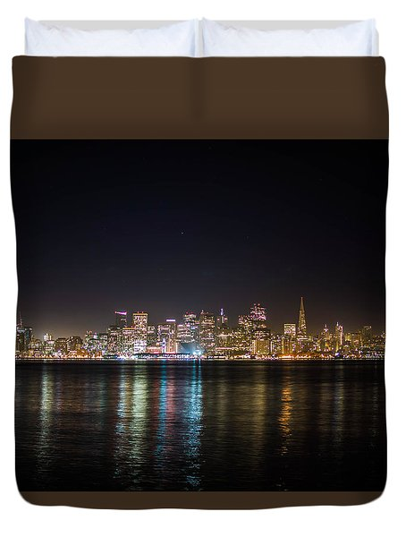 San Francisco Shot Duvet Cover