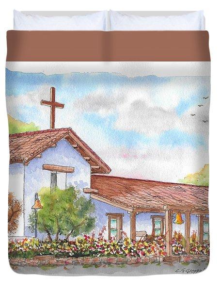 San Francisco Solano Mission, Sonoma, California Duvet Cover