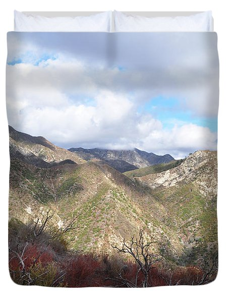 San Gabriel Mountains National Monument Duvet Cover