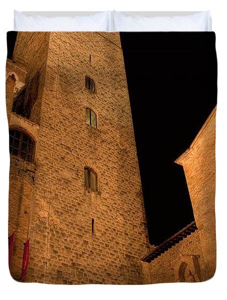 San Gimignano Duvet Cover