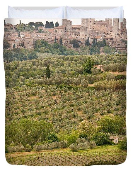 San Gimignano II Duvet Cover