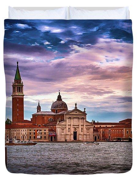 San Giorgio Di Maggiore Church Duvet Cover