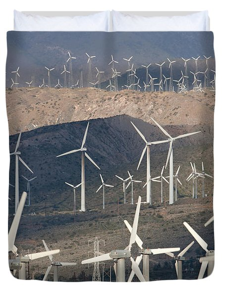 San Gorgonio Pass Wind Farm I Duvet Cover