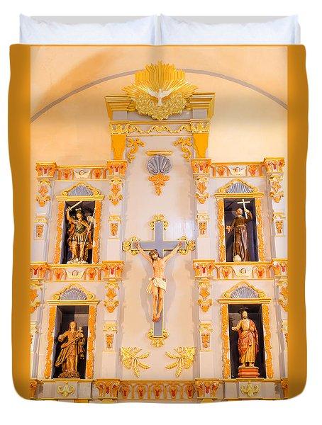 San Jose Chapel Duvet Cover