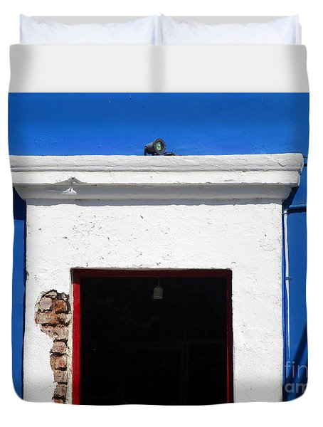 San Jose Del Cabo Door 5 Duvet Cover by Randall Weidner