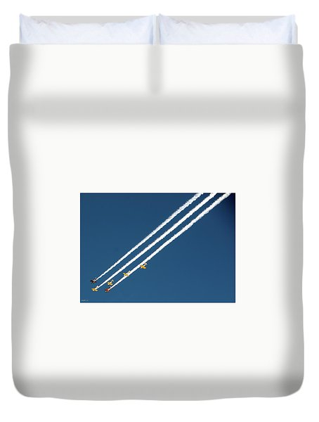 Duvet Cover featuring the photograph San Juan Aces by Kevin Munro