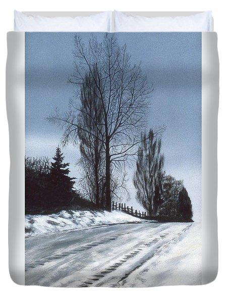 San Juan Snow Duvet Cover