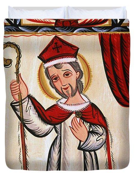San Nicolas - St. Nicholas - Aosni Duvet Cover