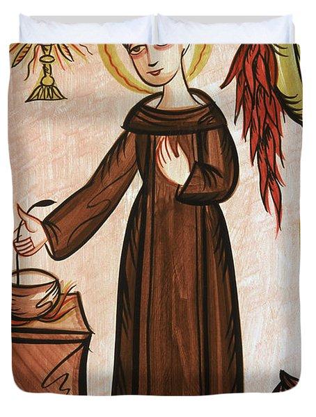 San Pascual Bailon - St. Pascal Baylon - Aopab Duvet Cover