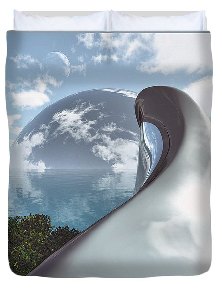 Sanctuary  Duvet Cover by Richard Rizzo