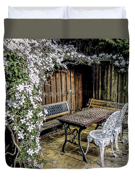 Sanctuary Duvet Cover by Sally Ross