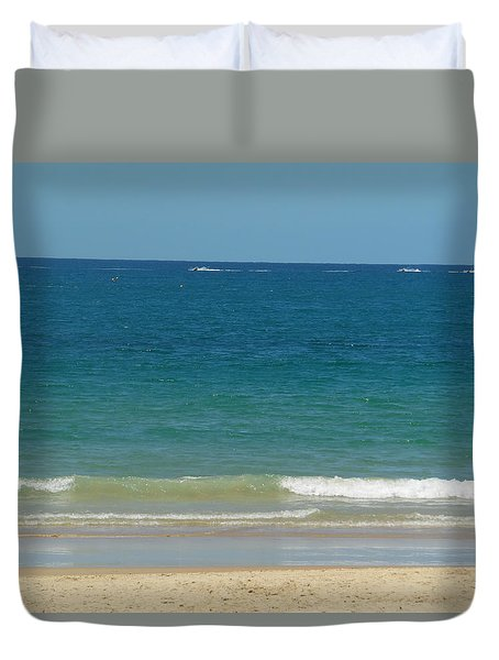 Sand And Sea Mount Noosa Duvet Cover