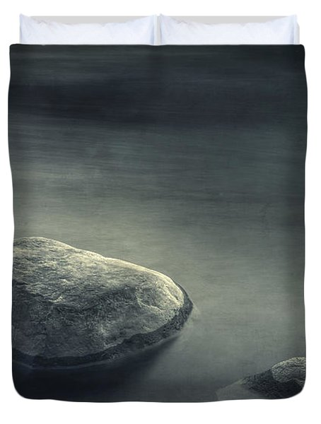 Sand And Water Duvet Cover