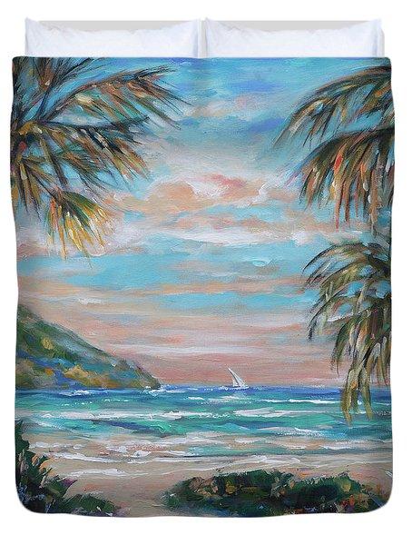 Sand Bank Bay Duvet Cover