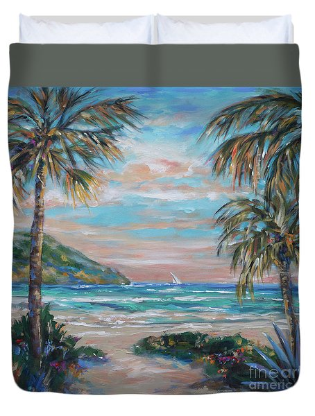 Sand Bank Bay Duvet Cover