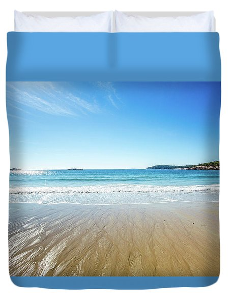 Sand Beach Duvet Cover