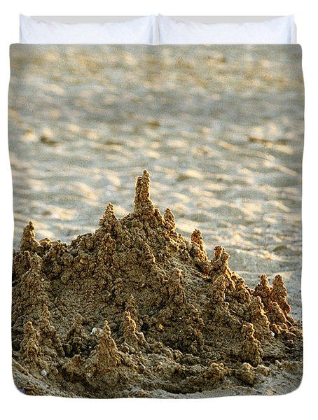 Sand Castle Duvet Cover