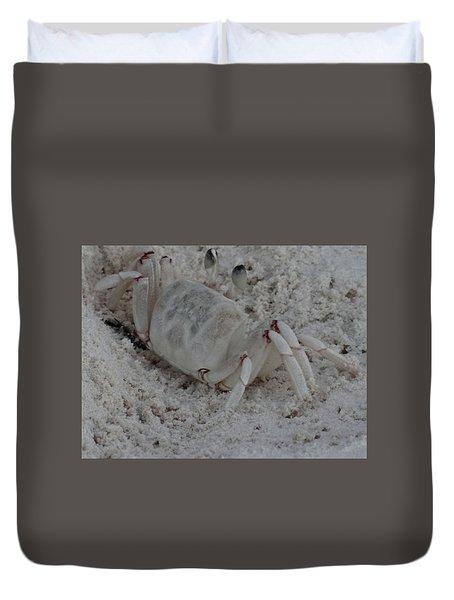 Sand Crab Duvet Cover