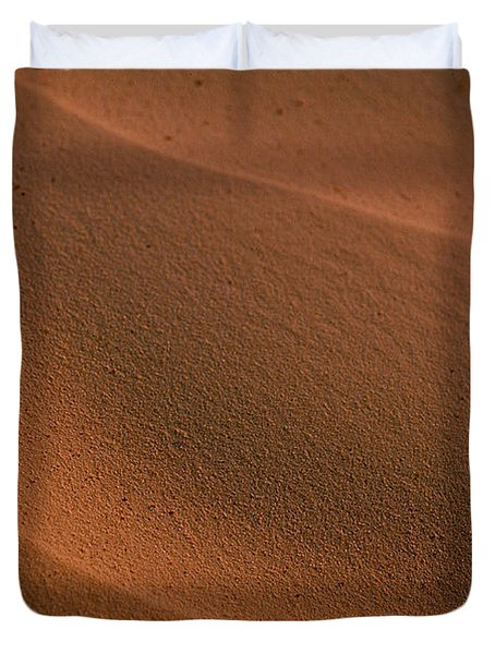 Sand Curves Duvet Cover