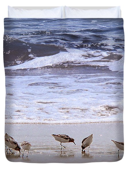 Sand Dancers Duvet Cover