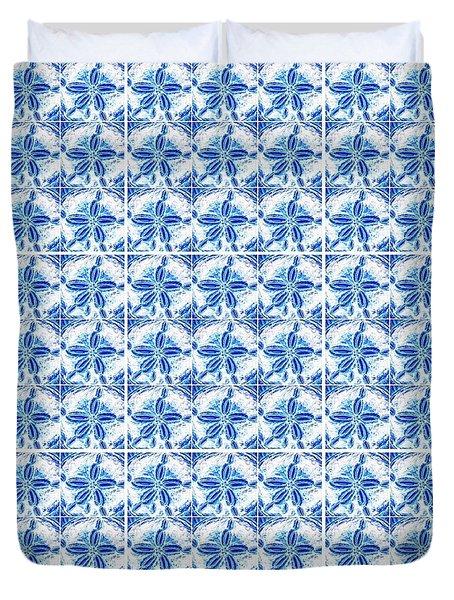 Sand Dollar Delight Pattern 1 Duvet Cover