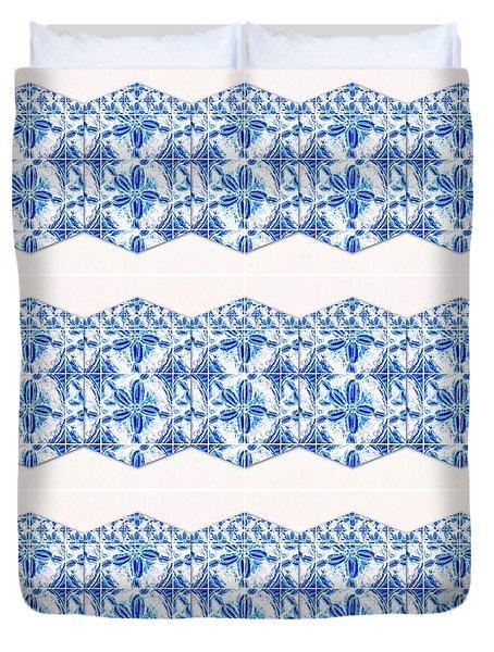 Sand Dollar Delight Pattern 4 Duvet Cover