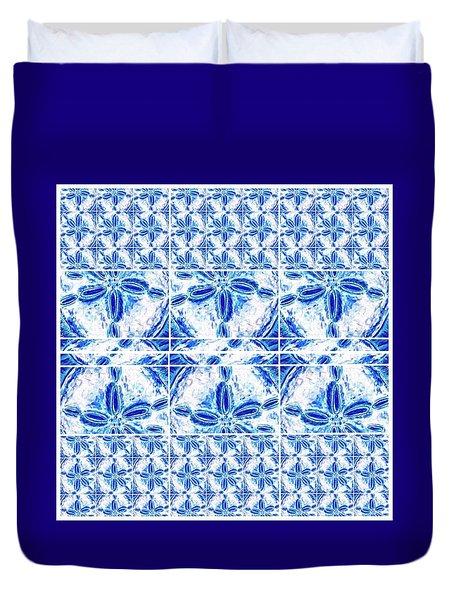 Sand Dollar Delight Pattern 6 Duvet Cover