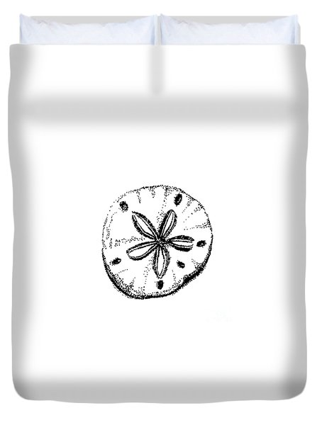 Sand Dollar Duvet Cover