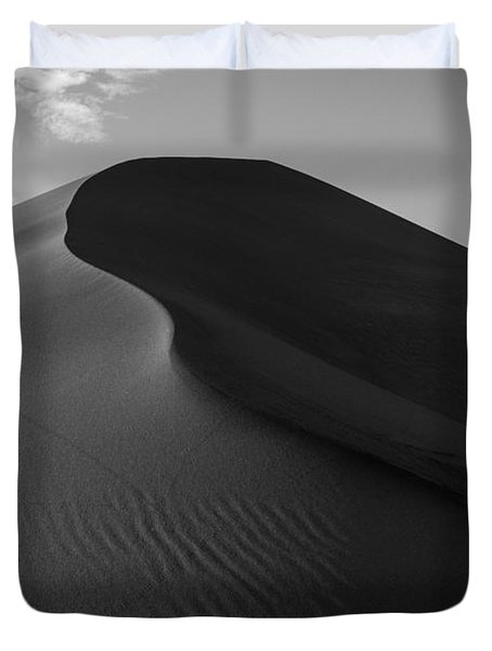 Sand Dune Beetle Tracks Duvet Cover