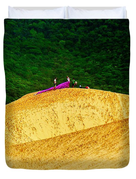 Sand Dune Fun Duvet Cover