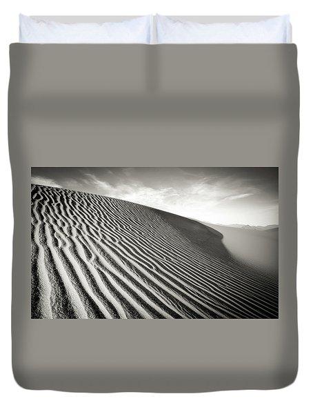 Sand Dune Duvet Cover by Marius Sipa