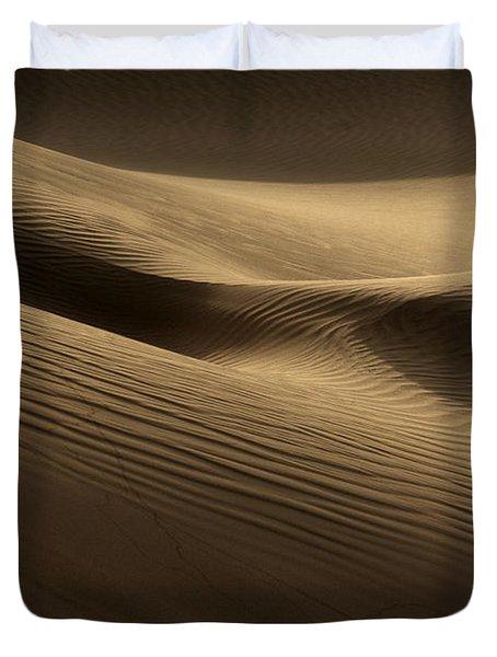 Sand Dune Duvet Cover by Phil Crean