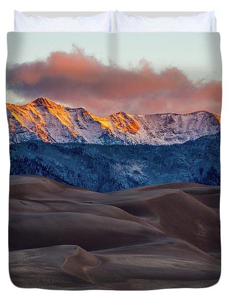 Sand Dune Sunrise Duvet Cover