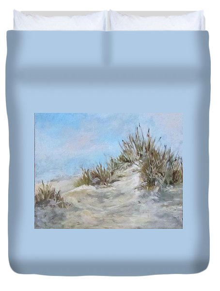 Sand Dunes And Salty Air Duvet Cover