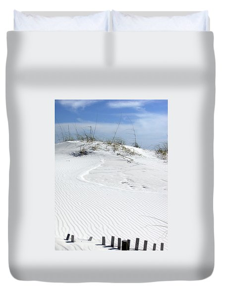 Duvet Cover featuring the photograph Sand Dunes Dream 2 by Marie Hicks