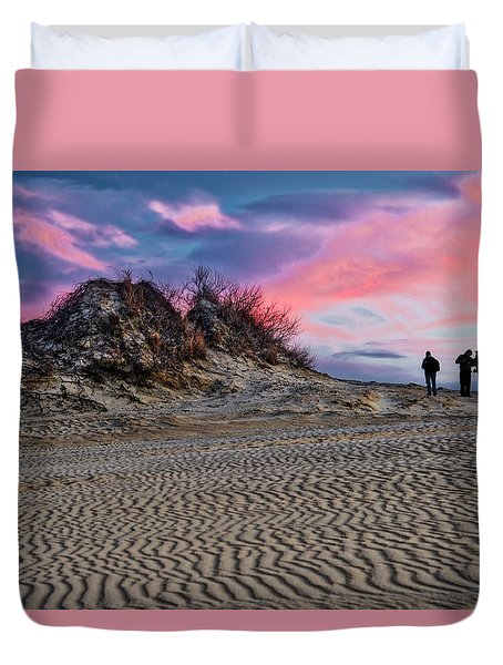Sand Dunes Of Kitty Hawk Duvet Cover