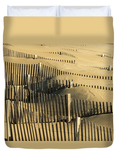 Sand Dunes Of The Outer Banks Duvet Cover
