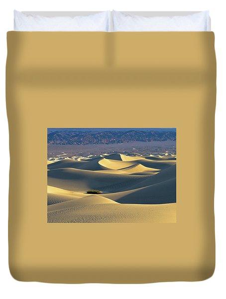Sand Dunes Sunrise Duvet Cover