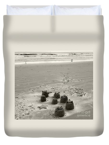Sand Fun Duvet Cover